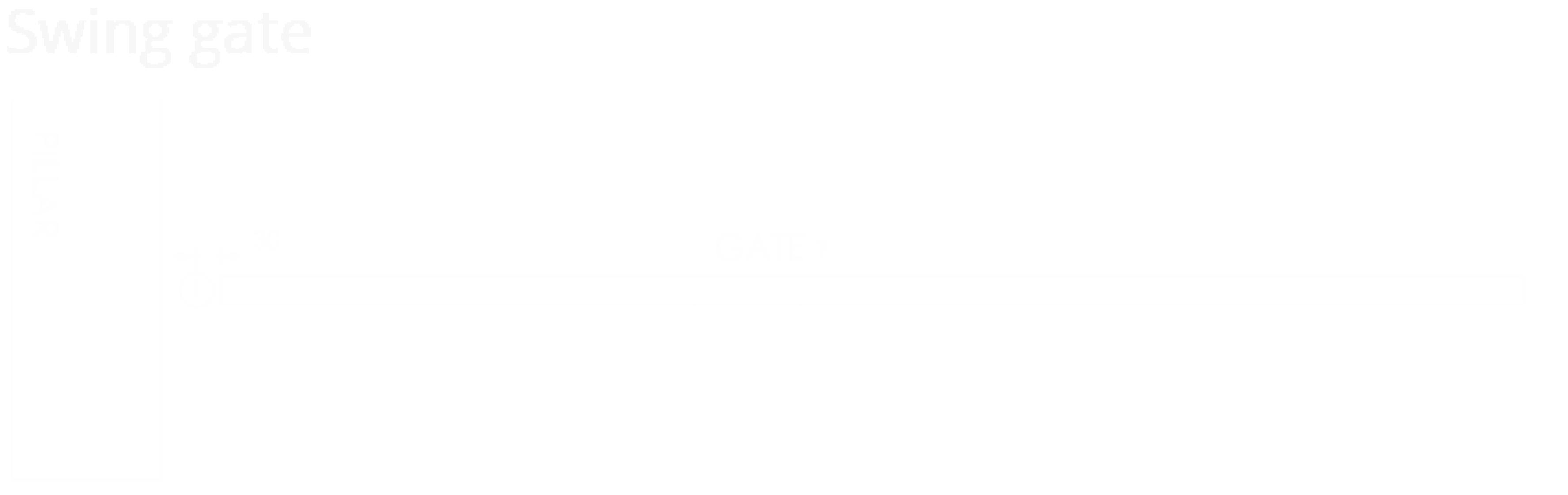 Underground Type Swing Auto Gate System